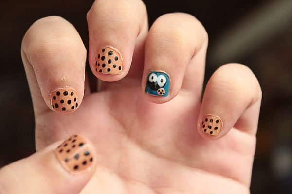 15 Yummy Cookie Monster Nails