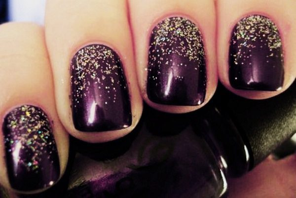 Purple Gold And Silver Nail Designs Best Photos Of Gold Mimagen