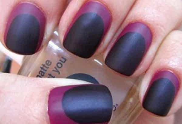 15 Luxurious Dark Purple Nail Art Designs