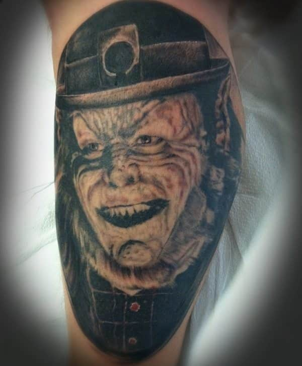 Horror Movie Tattoos Tattoos: 18 Horror Movie Tattoos To Die For