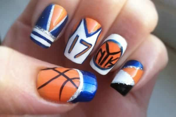 Jersey Nail Art Ideas 10 For Sports Fans