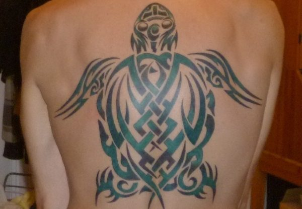 turtle tribal tattoos