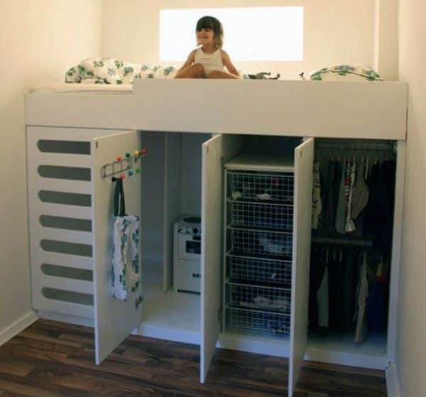 diy built in loft bed ideas