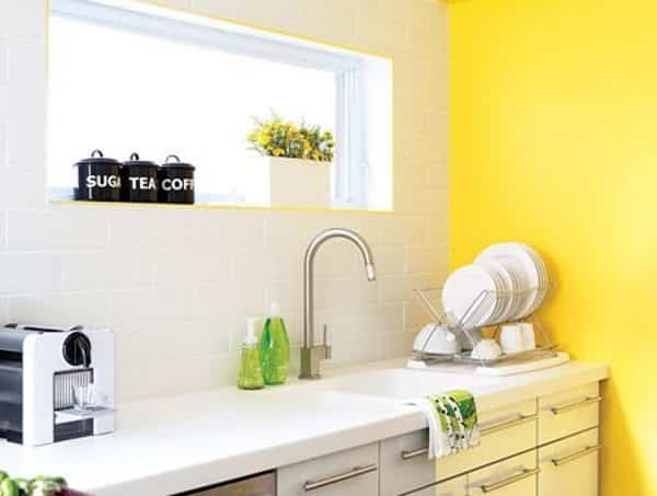 20 Ideas for Painting Kitchen Cupboards and Walls