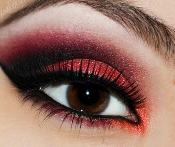 13 Wicked Ways to Use Red Eyeshadow