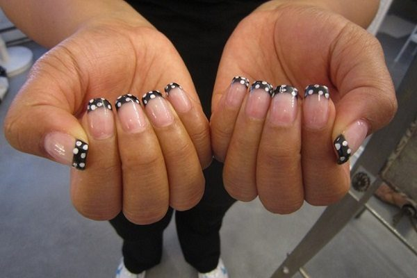 16 beautiful black nail art designs prinsesfo Image collections