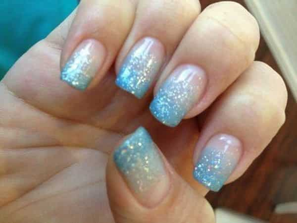 21 Beautiful Blue Winter Nails to Try