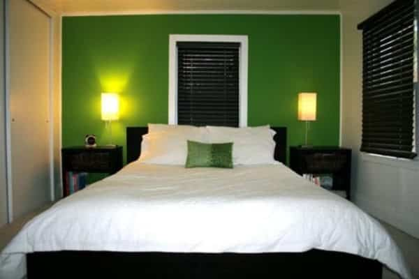 Green Accent Wall 15 gorgeous green bedrooms