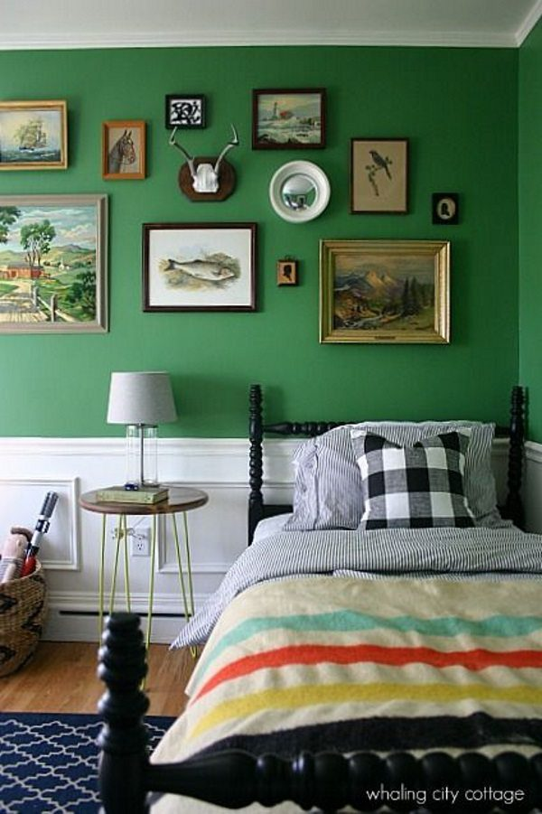 15 Gorgeous Green Bedrooms
