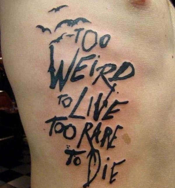 quote tattoos on guys