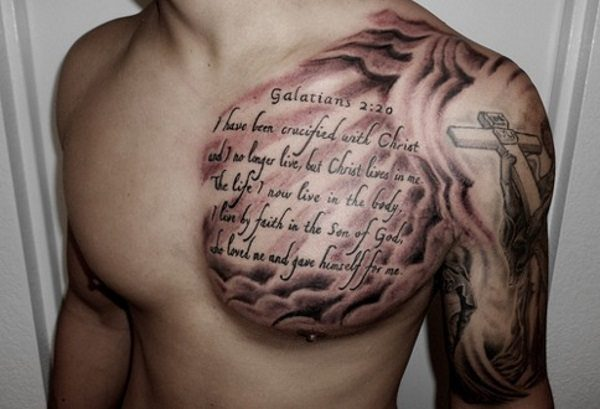 20 Cool and Creative Quote <b>Tattoos</b> on <b>Guys</b>