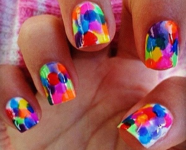 14 Bright And Colorful Nail Art Designs To Try