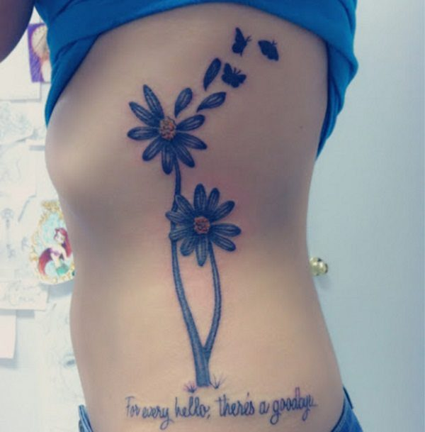 daisy tattoo