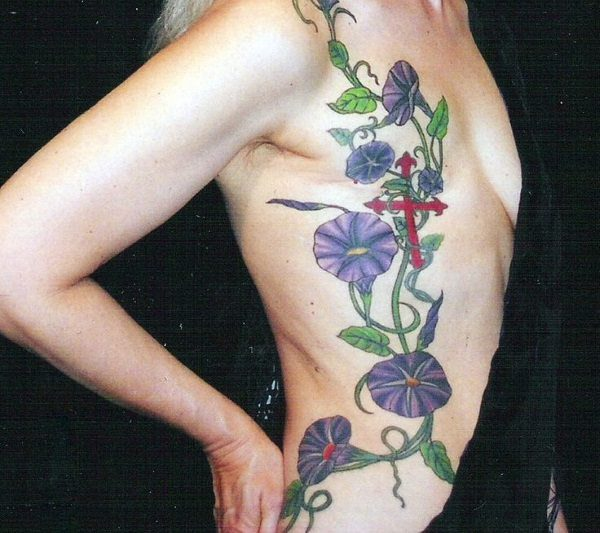 Morning Glory Flower Watercolor Tattoo Flowers Healthy