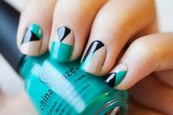 14 Nail Art Tape Designs That Anyone Can Try