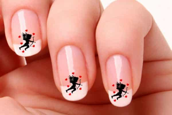 11 cupid nail designs for this valentines day cupid nail designs prinsesfo Choice Image