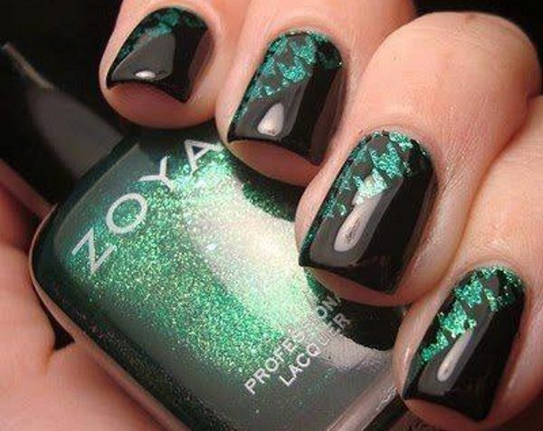 dark nail designs - 13 Dark Nail Designs Anyone Can Try