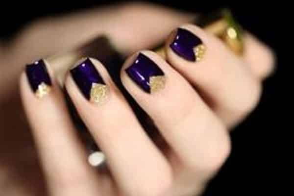 13 dark nail designs anyone can try dark nail designs prinsesfo Image collections