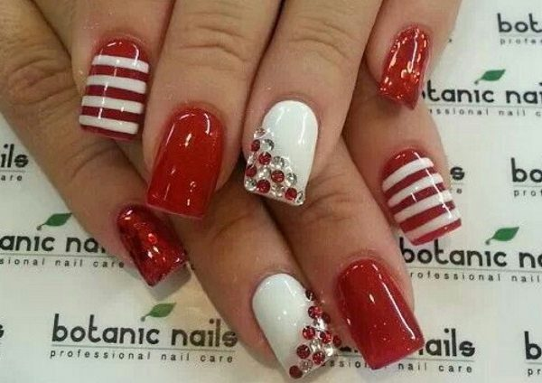 1 Red Nail Designs That Are Anything But Boring