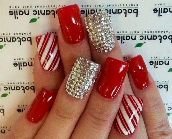 red nail designs - 1 Red Nail Designs That Are Anything BUT Boring