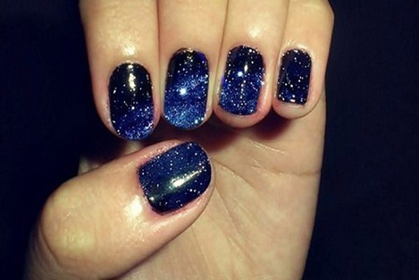 13 wild blue nail designs blue nail designs prinsesfo Image collections