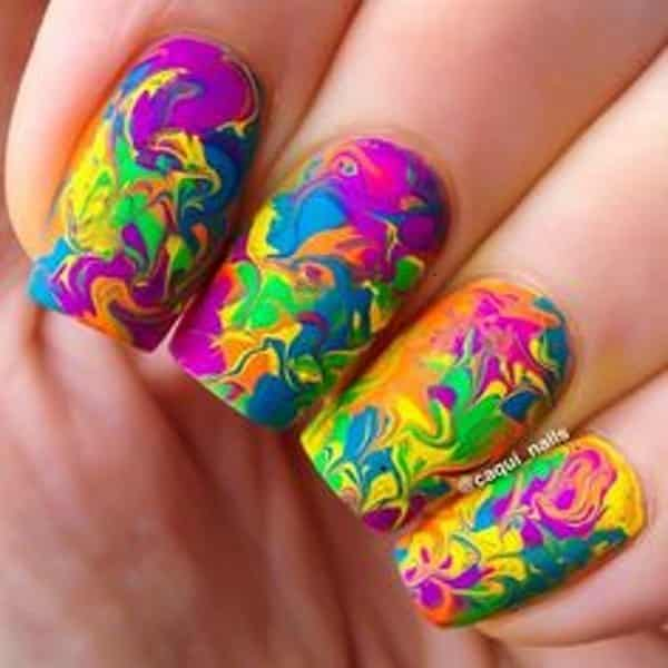 15 fun and funky nail designs creative nail designs prinsesfo Gallery