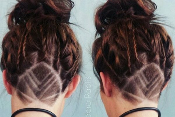 14 Unique And Funky Hair Tattoos