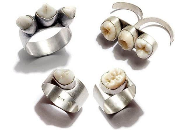 human tooth jewelry