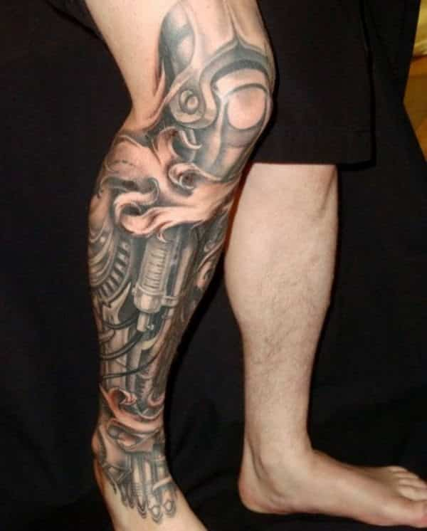 Leg Sleeve Tattoos 15 Unbelievable Collections Design Press