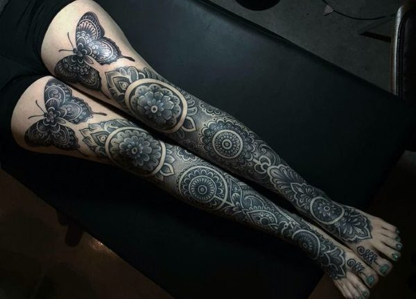 Leg Sleeve Tattoos 15 Unbelievable Collections Slodive