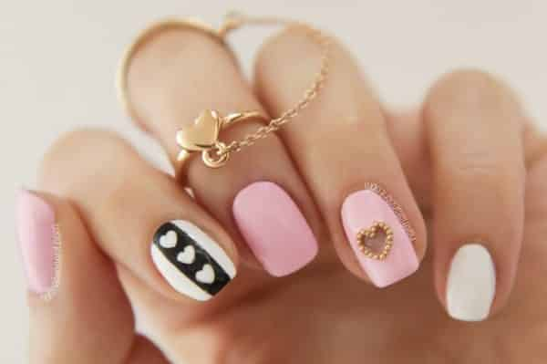 10 Sweet and Romantic Nail Design Ideas