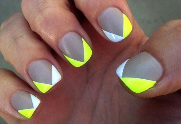 14 cheery and trendy yellow nail art designs for summer 2016 trendy yellow nail art prinsesfo Gallery