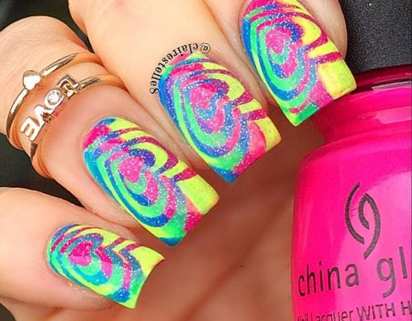 colorful nail art  15 Insane Colorful Nail Art Designs to Try colorful nail art 15