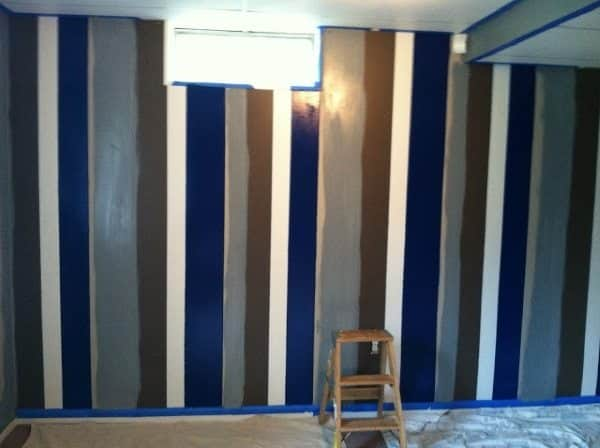 painted paneling