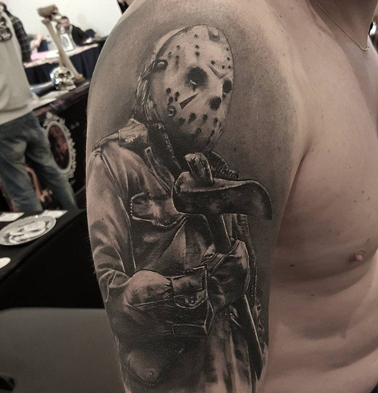 friday-the-13th  25 Best Movie Tattoo Designs Friday the 13th