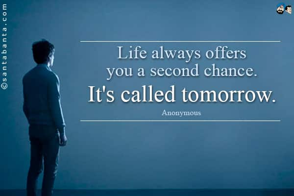 lifes-second-chance-quote