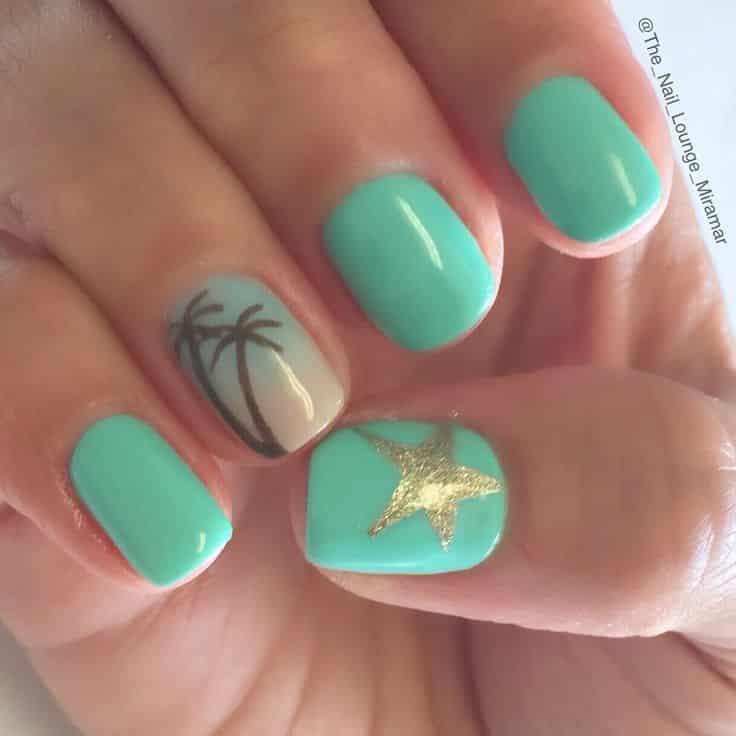 mint-green-with-palm-tree