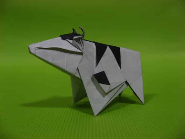 origami-cow
