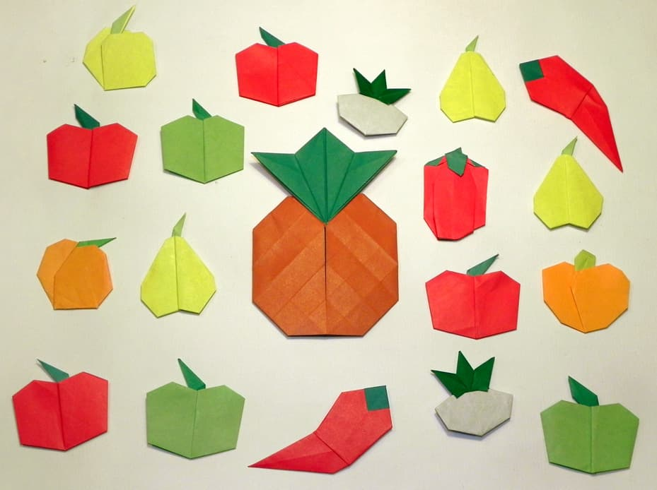 origami-fruits