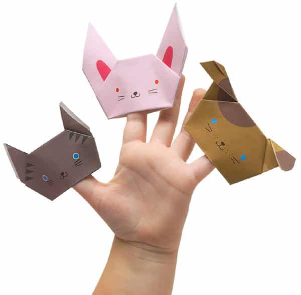 origami-puppets