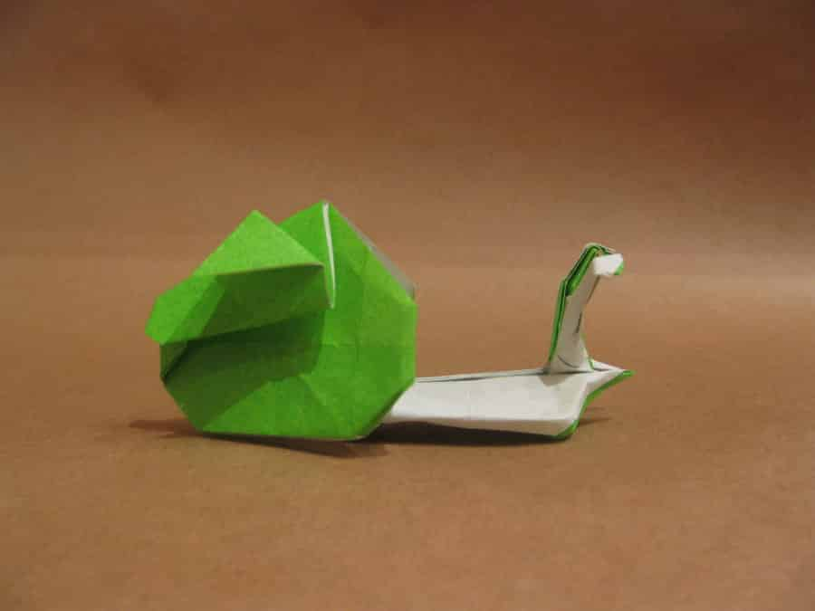 origami-snail