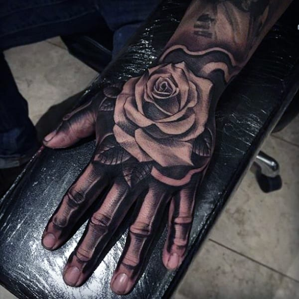 skeleton-hand-with-rose