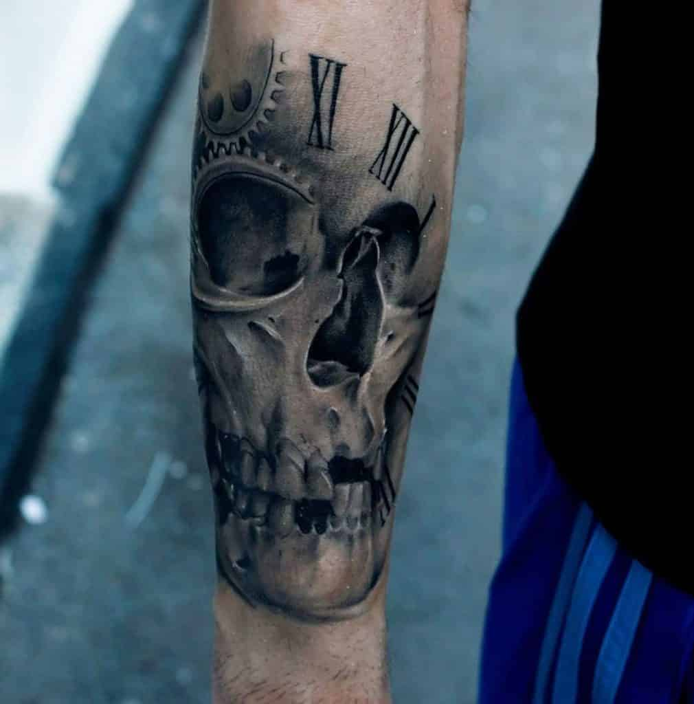 Clock Tattoo Designs 30 Incredible Collections Design Press