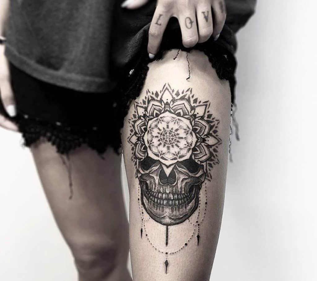skull-mandala