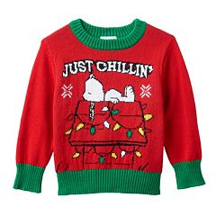 snoopy  15 Incredible Christmas Sweaters Snoopy