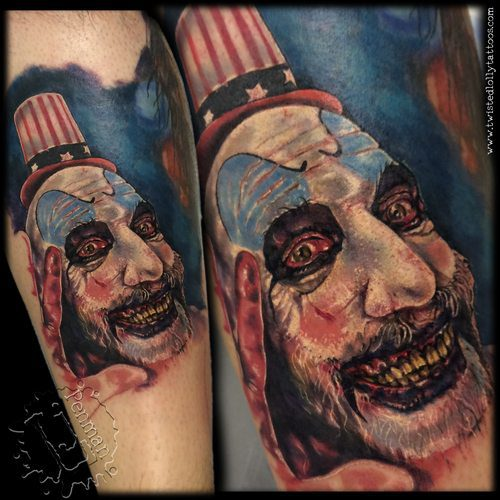 the-devils-rejects  25 Best Movie Tattoo Designs The Devils Rejects