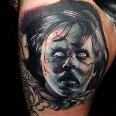 the-exorcist  25 Best Movie Tattoo Designs The Exorcist