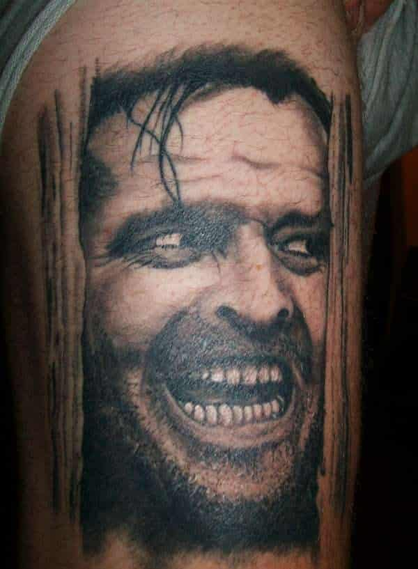 the-shining  25 Best Movie Tattoo Designs The Shining