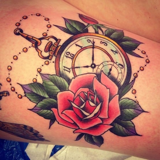 vivid-pocket-watch-with-roses
