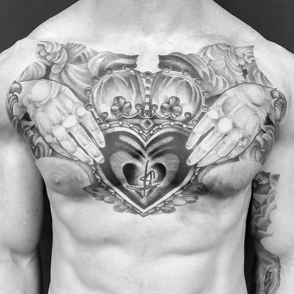 60288bf53 16 Great Claddagh Tattoos